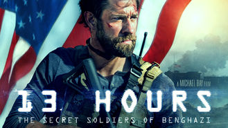 Netflix box art for 13 Hours: The Secret Soldiers of Benghazi