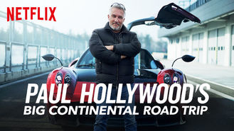 Netflix box art for Paul Hollywood's Big Continental Road Trip - Season 1